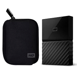 Disco Duro Externo WD My Passport 1Tb  + Funda